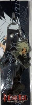 D.Gray-Man Allen Walker Metal Phone Strap