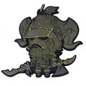 Final Fantasy XII Gabranth Rubber Phone Strap