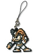 Megaman Bass Pixelated Phone Strap