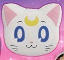 Sailor Moon 12'' Artemis Head Throw Pillow