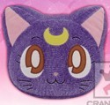 Sailor Moon 12'' Luna Head Throw Pillow