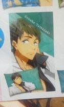 Free! - Iwatobi Swim Club Sousuke Pillow Case Vol. 2