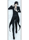 Black Butler 4' Sebastian Body Pillow