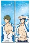 Free! - Iwatobi Swim Club Haruka and Makoto Body Pillow