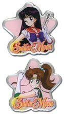 Sailor Moon Sailor Mars and Sailor Jupiter Pin Set