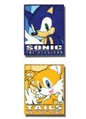 Sonic the Hedgehog Sonic and Tails Frame Pin Set