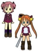 Negima! Master Negi Magi Asuna and Makie Pin Set