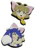 Moon Phase Hazuki and Haiji Pin Set