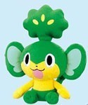 Pokemon 8'' Pansage Plush Banpresto
