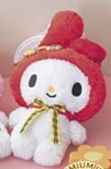 Sanrio 14'' My Melody Red Plush