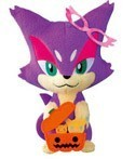 Pokemon 6'' Halloween Purrloin Plush