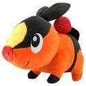 Pokemon 8'' Tepig Tomy Plush