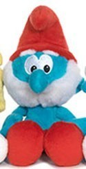 Smurfs 5'' Papa Smurf Bean Bag  Plush