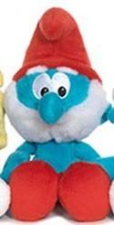 Smurfs 5'' Papa Smurf Bean Bag  Plush