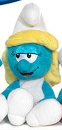 Smurfs 5'' Smurfette Bean Bag  Plush
