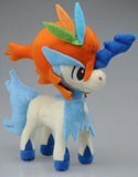 Pokemon 7'' Keldeo Absolute Form Tomy Plush