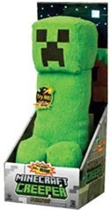 Minecraft Creeper 14'' Talking Plush