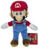 Nintendo Super Mario Bros. 6'' Mario Wii Wave 1 Plush
