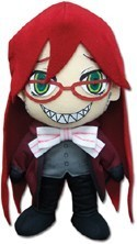 Black Butler 8'' Grell Plush