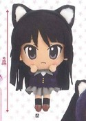 K-On 10'' Mio w/ Cat Ears Plush