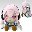 Super Sonico 10'' Open Eyed Swaying Speaker Plush