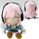 Super Sonico 10'' Close Eyed Swaying Speaker Plush