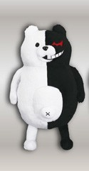 Super Dangan Ronpa 2 12'' Monobear Plush Arms Down