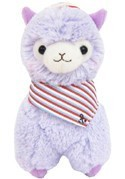 Llama 12'' Purple Sailor Plush