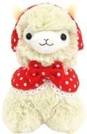 """Llama 12"""" Khaki Ear Muffs Plush"""