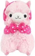 "Llama 12"" Pink Ear Muffs Plush"