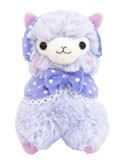 "Llama 12"" Purple Ear Muffs Plush"