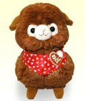 Alpacasso 10'' Kid's Sweet Day Brown Amuse Prize Plush