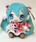 Vocaloid 8'' Snow Miku w/ Earmuffs Plush
