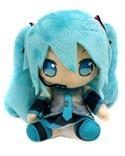 Vocaloid 8'' Miku w/ Microphone Prize Plush
