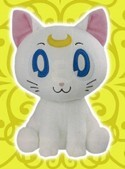 Sailor Moon 10'' Chibi Artemis Banpresto Prize Plush