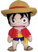 One Piece 8'' Luffy New World Plush