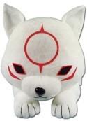 Okami 10'' Chibiterasu Lying Down Plush