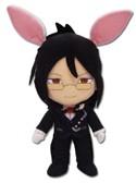 Black Butler 8'' Sebastian w/ Bunny Ears Plush