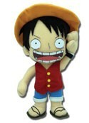 One Piece 8'' Luffy Plush