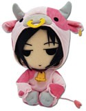 Black Butler Sebastian 8'' Cow Cosplay Plush