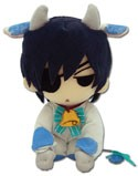 Black Butler Ciel 8'' Cow Cosplay Plush