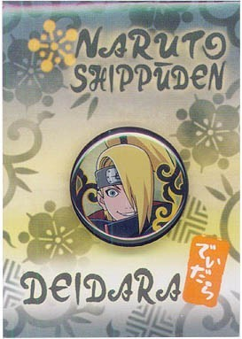 Naruto Shippuuden Pin Badge - Deidara