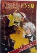 D.Gray-man Alan SD Star Pin