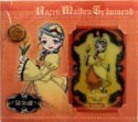 Rozen Maiden Lami Card and Rose Pin Set Kanaria