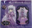 Rozen Maiden Lami Card and Rose Pin Set Barasuishou