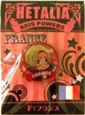 Hetalia Axis Powers France Pin