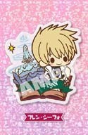 Tales of Friends Flynn Vesperia Clear Brooch Pin