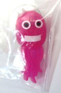 Moyashimon O-157 Pink Rubber Pin