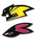 Tiger and Bunny Logos Pin Set