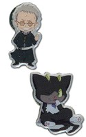 Blue Exorcist Shiro and Kuro Pin Set